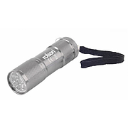 Rolson 9 LED Aluminium Torch