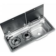 Smev MO9722RE Caravan Motorhome Sink and Hob Combination unit