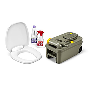 Thetford Toilet Fresh-Up Set with wheels - C200