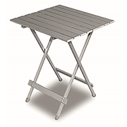 Twist folding aluminium table