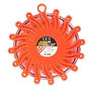 Via Mondo 16 LED Orange Warning Disk