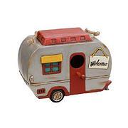 Vintage Caravan Polyresin Birdhouse
