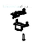 Dometic Midi-Heki Mounting Blocks and Screws 25 -29 mm