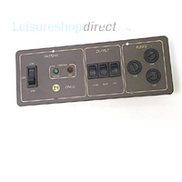 ZIG CP-400 black control panel