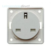 Berker 13 amp Socket - White