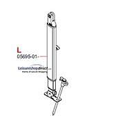 L.H Leg Fiamma F45TiL + Zip Awnings 4.0M - 6.0M Polar