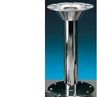 Island Table leg system - Stainless Steel image 1