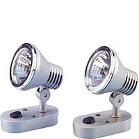 Lumo Mini Spot Light 10W Halogen Satin/Chrome Bezel