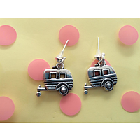Caravan earrings lovely christmas/ birthday gift