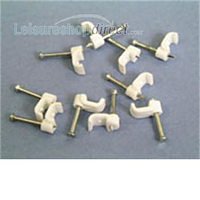 Cable Clip 4.5mm - flat