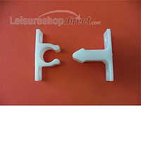Nylon door retainer