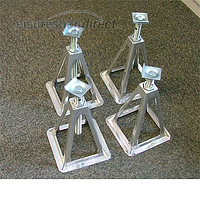 Fiamma Aluminium Axle Stand Set 4