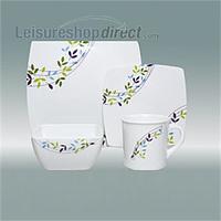 Spring Leaf Melanine Tableware image 1