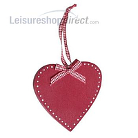 Christmas Heart - Wooden - Scandinavian