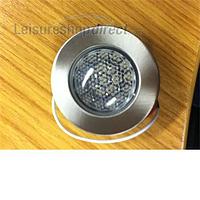 Downlight 21 LED, brushed nickel