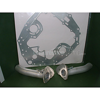 Exhaust kit Honda 225 outboard