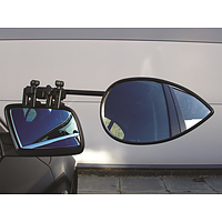 Milenco Aero 2 Mirror Flat Twin pack