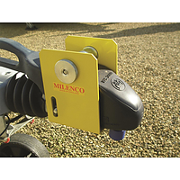 Milenco Heavy Duty WS3000 Caravan Hitch Lock