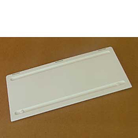 Winter cover for larger Dometic vent L300 - white