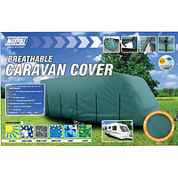 Maypole 4 Ply Caravan Cover - Grey Fits up to 6.2M-6.8M (21-23')