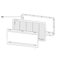 Dometic LS330 Winter Cover Frame White