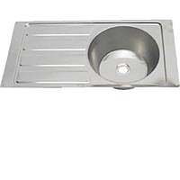 Steelbrite Sink And Drainer 21 3/4 x 14 inch