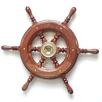 Mahogany Steering Wheel Type KC52, steering wheels, accessories