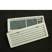 Thetford smaller fridge vent - White