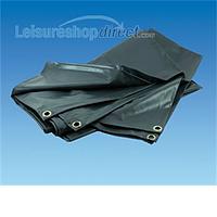 Groundsheet - 16 x 8ft - Grey PVC