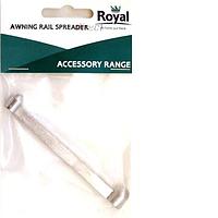 Royal awning rail spreader