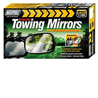 Maypole Extending Caravan Towing Mirrors- Convex