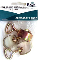 "Pole Adjusting Clamp 7/8"" - Pack 3"