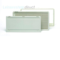 Dometic LS300 White Vent with Winter Cover
