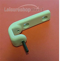 Top hinge grey for polyplastic stay