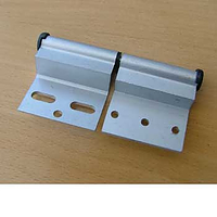 Ellbee door hinge silver LH - for Static caravan