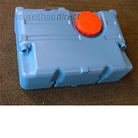 82 litre blue tank for water or waste (threaded hatch)