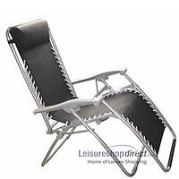 Textoline Reclining Chair - black