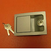 Caraloc 700 Door Lock silver - exterior only