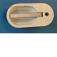 Seitz door handle outer - light grey