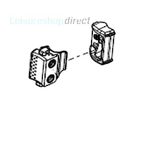 Handle/Lock for Seitz Sliding Window Acrylic Pane (from Feb 2007 onwards)