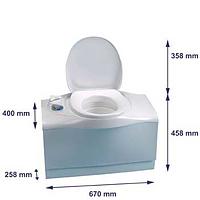 Thetford Cassette Toilet C-402C Left Hand