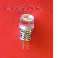 12 volt single LED bulb, 10 watt equivalent