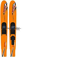 Base Galaxy Wide Body Combo Skis - Junior 59""