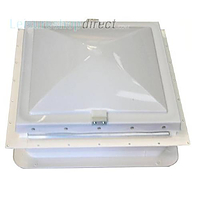 "Complete Wind Up Rooflight for aperture 14"" x 14"""