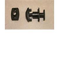 Door retainer - through door type