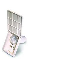 Crystal filter housing (Filtapac) - Ivory