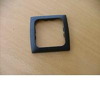 Single Cover Plate - Softline Black