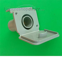Caravan 28mm waste outlet fitting