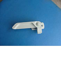 Window catch LH with push button