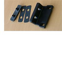 Fixed bracket 24mm for polyplastic window